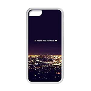 glam city night personalized high quality cell phone case for Iphone 5C