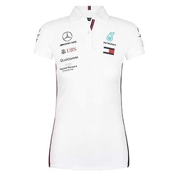 Mercedes-AMG Petronas Motorsport 2019 F1TM Polo del Equipo Blanco ...