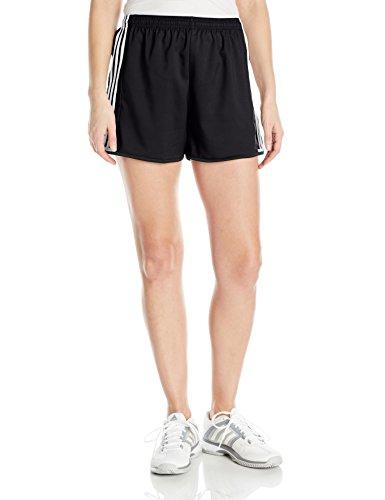 adidas Women's Soccer Condivo 16 Shorts, Black/White, Large (Women Shorts Soccer)