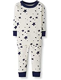 Baby/Toddler 2-Piece Organic Cotton Long Sleeve Star Print Pajama Set