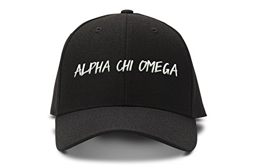 - Alpha Chi Omega Casual Block Low Profile Dad Hat Cap
