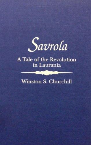 book cover of Savrola
