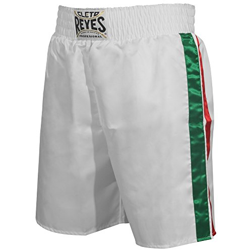 Cleto Reyes Satin Boxing Trunks, Mexico, Small