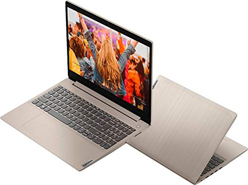 "2020 Powerful Lenovo IdeaPad 15.6"" HD Touch Screen Laptop, 10th Gen Intel Core i3-1005G1 up to 3.40GHz, 8GB RAM, 256GB PCIe SSD, Dolby Audio, Webcam, Windows 10S, Almond, with E.S 32GB USB Card"