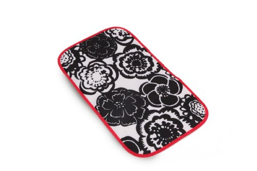 Ju-Ju-Be Changing Pad Bag, Onyx Blossoms