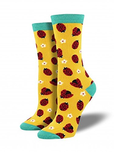 Socksmith Women's Ladybug Bright Yellow One Size]()