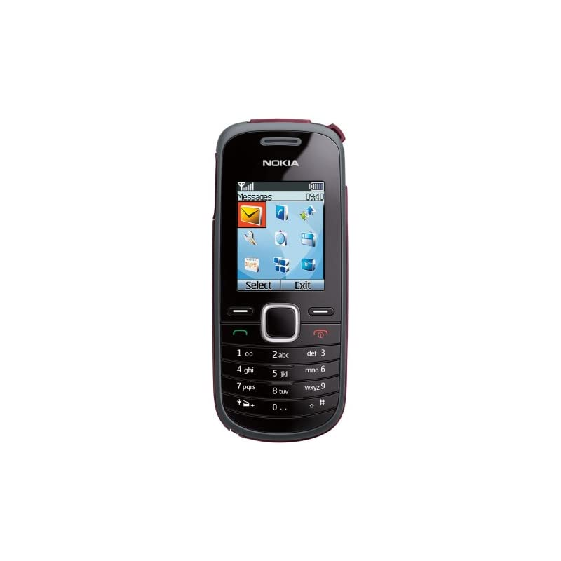 Nokia 1661 Prepaid Phone, Black (T-Mobil
