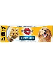 Pedigree Dentastix Snack per la Igiene Orale Avanzata 2 Volte a Settimana (Cane Grande 25 kg+) 120 g 1 Pezzo - Confezione da 9 Pezzi