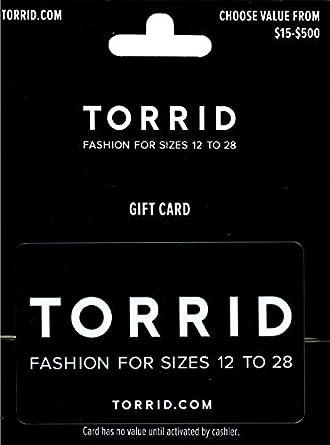 Torrid Gift Card