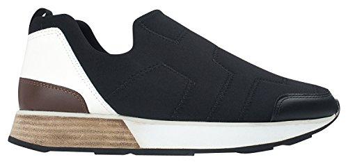 Annakastle Womens Stretch Neoprene Låg-top Sneaker Komfort Snedstegons Svart
