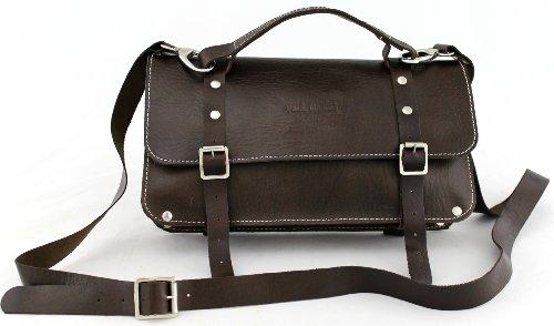 PAUL MARIUS Handtasche vintage-stil aus leder Partytasche damentasche farbe Alter Schwarz L'ENVELOPPE nA9vKe