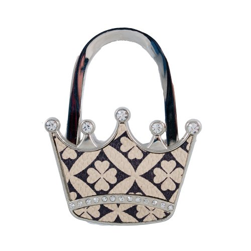 AmebaConcept 1 piece of stylish bag hanger (Queen Crown)