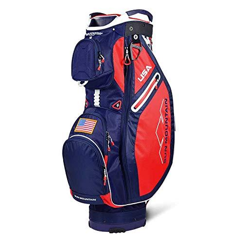 Sun Mountain 2019 Sync Cart Bag Navy/Red