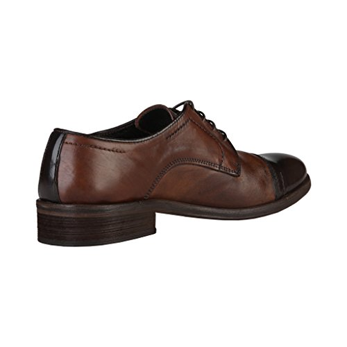 Homme in à Lacets Chaussures Made Italia Marron Shoes 4qwBWZA