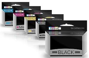 Prestige Cartridge HP364XLof5 - Pack de 5 cartuchos de tinta para impresoras HP Photosmart, multicolor