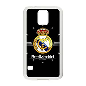 Real Madrid Design Plastic Case Cover For Samsung Galaxy S5