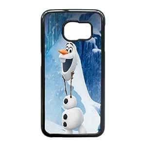Samsung Galaxy S6 Edge Phone Case Black Frozen Olaf EWR9821131
