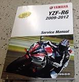 yamaha r6 service manual - 2009 2010 2011 2012 Yamaha YZF R6 Service Shop Repair Manual Factory NEW