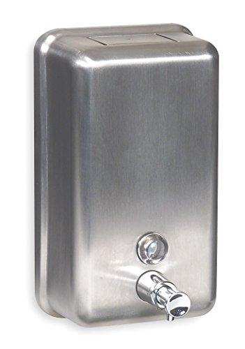 Soap Dispenser Silver Wall Mount