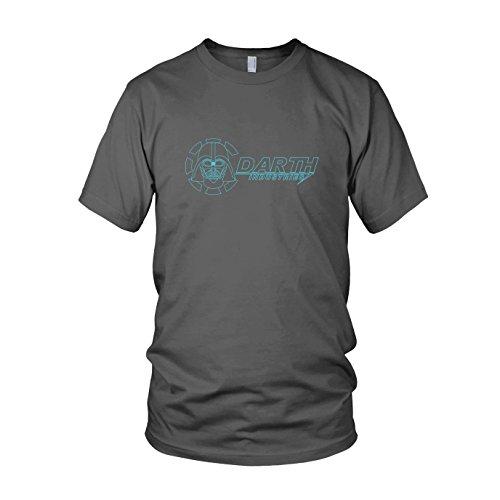 Darth Industries - Herren T-Shirt, Größe: L, Farbe: grau