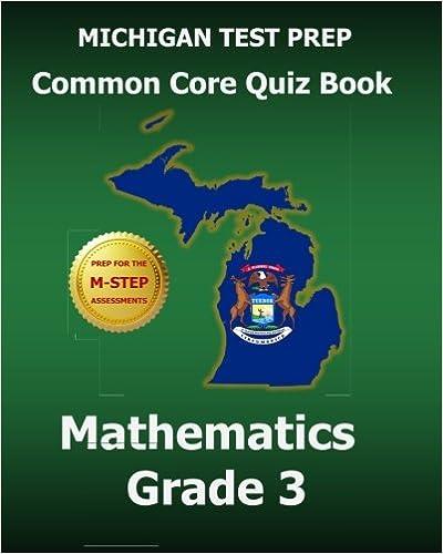 Amazon com: MICHIGAN TEST PREP Common Core Quiz Book Mathematics