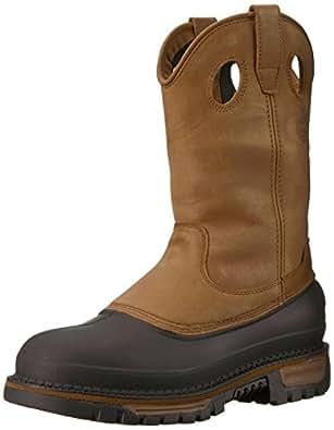 Georgia Boot Men's Muddog Work Boot,Brown,8 W