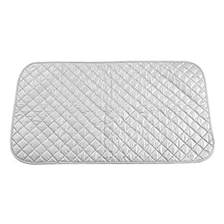 Ironing Mat, Travel Reflective Ironing Board Cover Washer Dryer Table Top Countertop Ironing Board for Ironing Board Pressing Pad(48 * 85cm) Haofy