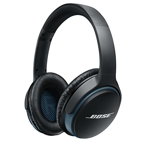 Bose SoundLink around-ear wireless headphones II, Black, 1.5x6x7.5 inch - 741158-0010