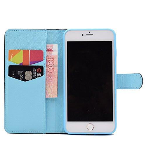 Voguecase® Pour Apple iPhone 7 Plus 5,5 Coque, Étui en cuir synthétique chic avec fonction support pratique pour iPhone 7 Plus (Fleur de pêche-Pink)de Gratuit stylet l'écran aléatoire universelle