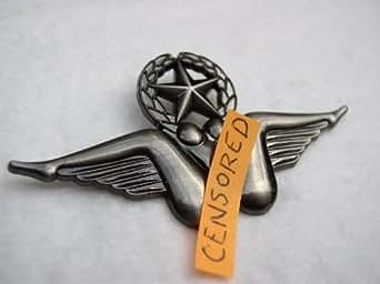 Amazon Com Bush Wings Pin Usaf Flying Star Pilot Badge