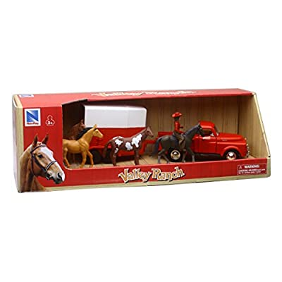 1952 Dodge Pickup Truck w/ Horse Trailer: Toys & Games