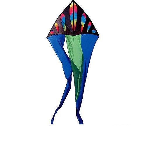 Premier Kites 56 Flo Tail Deltas- Wavy Gradient - Gradient Delta