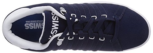 K Swiss Lozan iii Marine Weiß Canvas HerrenSneaker Schuhe Boots