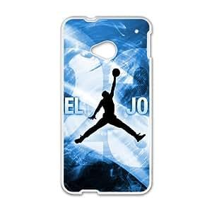 HTC One M7 Cell Phone Case Michael Jordan Logo Case Cover PP8P299239