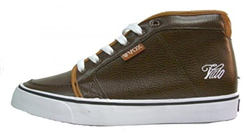 Vox Skateboard Shoes Vato Brown Leather qZ5s9xPHX1