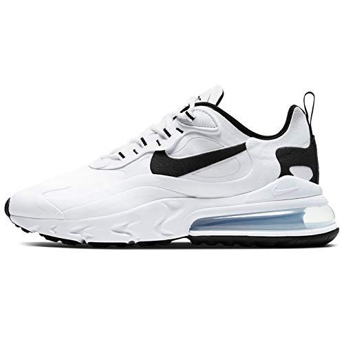 Nike Air Max 270 React Running Shoe Mens Ct1264-102 Size 10.5 White/Black/White 1