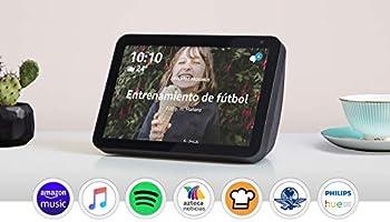 "Presentamos Echo Show 8 - Pantalla inteligente HD de 8"" con Alexa - Negro"