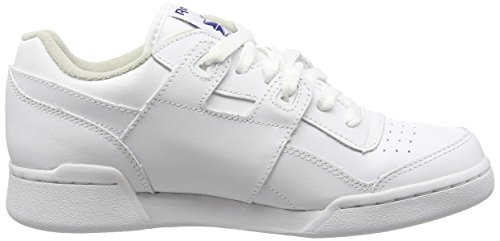Plus Unisex Royal Low Erwachsene Reebok Weiß Workout Top White wtFqqxZd