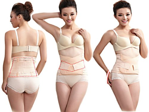 Postpartum Maternity After Pregnancy Post Natal Slimming Re-Shaping Abdominal Support Belt Wrap Belly Tummy Girdle Binder