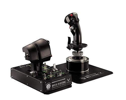 Thrustmaster HOTAS WARTHOG – PC – Joystick + Mando de potencia réplica HOTAS (Hands On Throttle And Stick) del avión de…