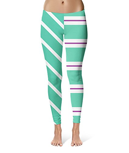Sugar Rush Racers Wreck It Ralph Inspired Sport Leggings - Full Length, Mid/High Waist -