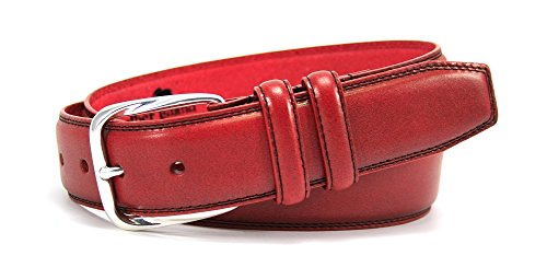 Bill Lavin Belts (Leather Island 40mm Soft Sedona Red Leather)