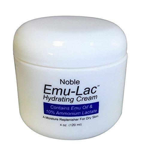 Noble Formula Emu Oil & 10% Ammonium Lactate Alpha Hydroxy Hydrating Cream, 4 oz