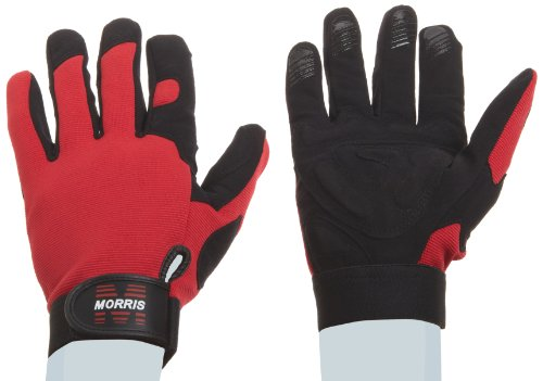 Morris Products 53183 High Performance Shock Absorption Gloves, (Shock Absorption Glove Gloves)