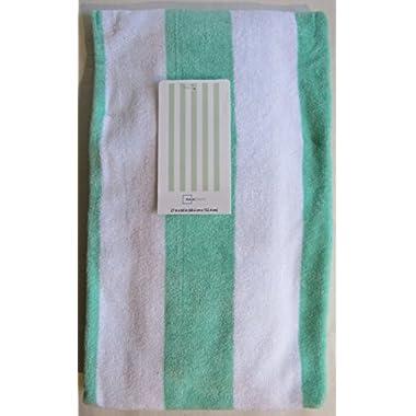 Spring/Summer 2016 Mainstays Beach Towel - 27 x 60 (Aqua Verde)