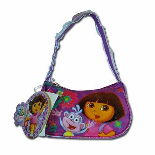 - Dora the Explorer & Boots Girls' Purple Purse