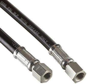 Alemite 317875-30 High Pressure Grease Hose, 30' Long, 8,000 psi, 20,000 psi Burst Pressure