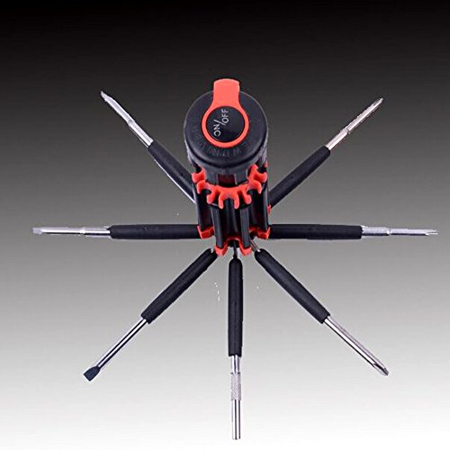 8 in 1 Multi-Screwdriver Set With LED Torch - 5