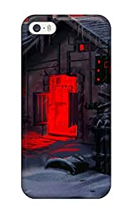 Ryan Knowlton Johnson's Shop First-class Case Cover For Iphone 5/5s Dual Protection Cover Warrior