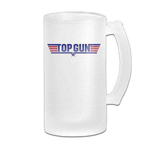 Price comparison product image Top Gun Logo Grind Beer Glass Mug White